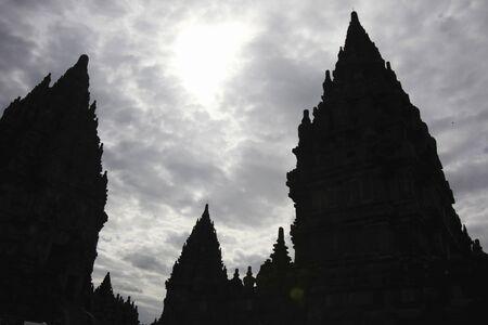 prambanan: Prambanan silhouette