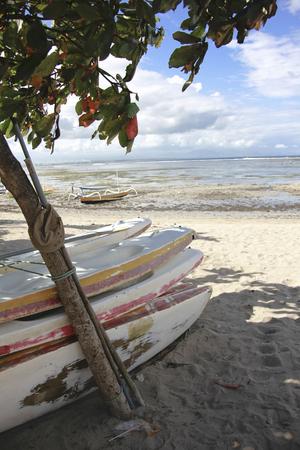 sanur: Sanur Beach boat