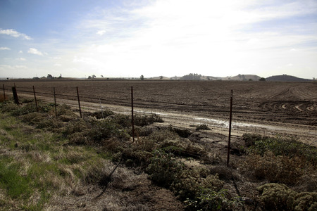 other side of: Wasteland that spread to the other side of the fence