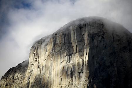 el capitan: Summit of El Capitan to get a pale cloud