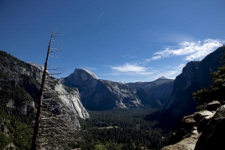 distant spot: Yosemite Valley landscape