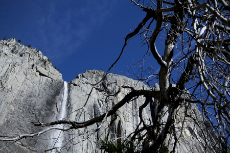 distant spot: Appear Yosemite fall