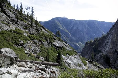 Rock formation in Yosemite Valley