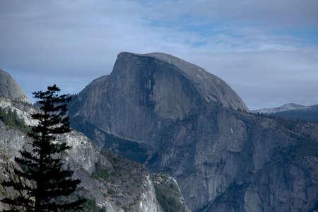 dome: Yosemite Valley half dome