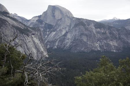 half dome: Yosemite Valley half dome
