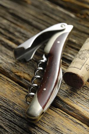 sommelier: Sommelier knife Stock Photo