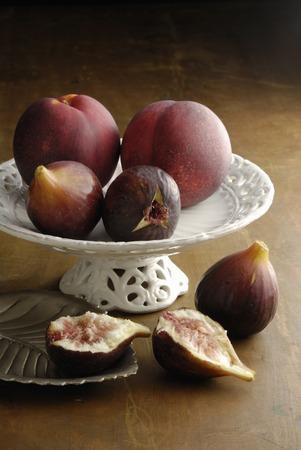 Fig and nectarine