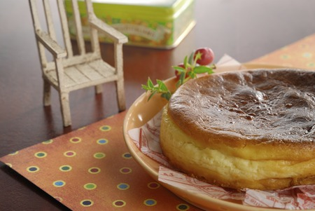 point and shoot: Baked cheese cake