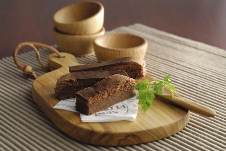Stick chocolate cake
