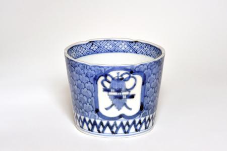 an antique: Antique cup