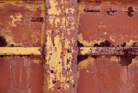 point and shoot: Iron rust