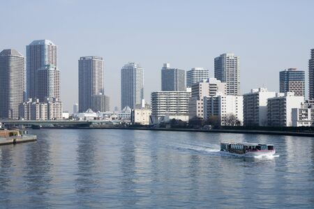 sumida: Sumida River Stock Photo