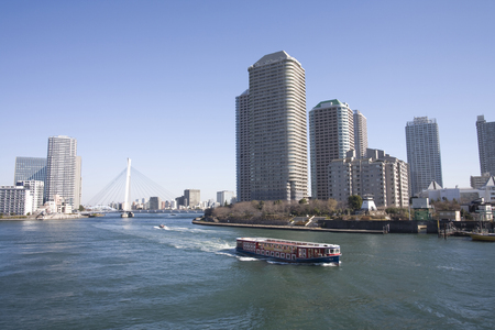 waterbus: Sumida River Waterfront