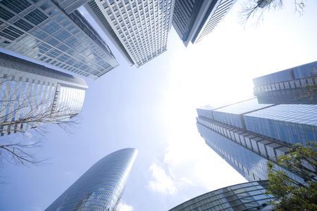 gebäude: Hohe Anstieg Gebäude