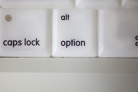 option key: Laptop key