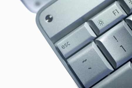 escape key: Laptop key