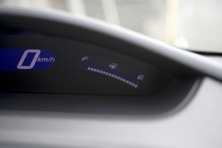 hybrid car: Meter of hybrid car