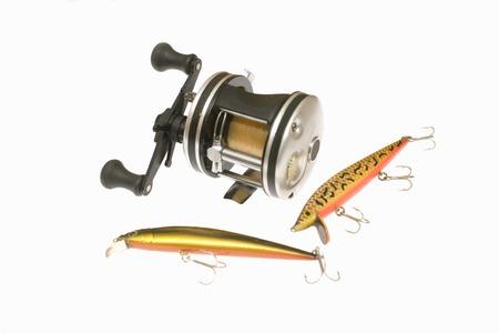 Fishing equipment Banco de Imagens