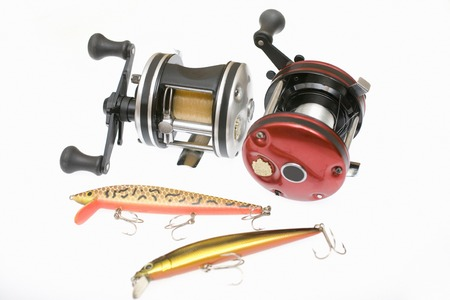 decoy: Fishing equipment Stock Photo