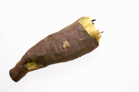 relent: Baked sweet potato Stock Photo