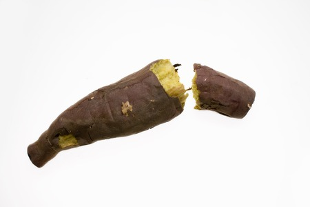 sweet potato: Papa al horno dulce