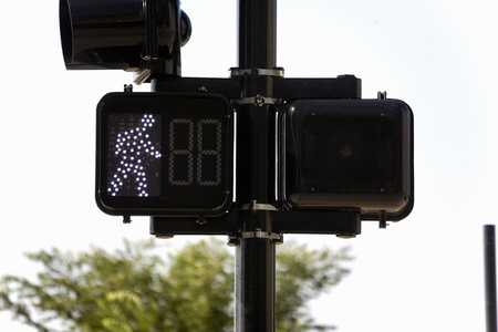 pedestrian: Pedestrian Signs Stock Photo