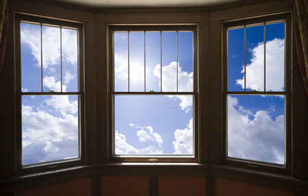 sunroom: The sky from the window