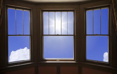 sunroom: Sun from window