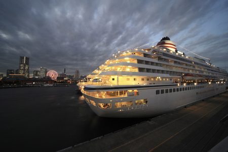 regarded: All regarded as et al want to cruise ship Stock Photo
