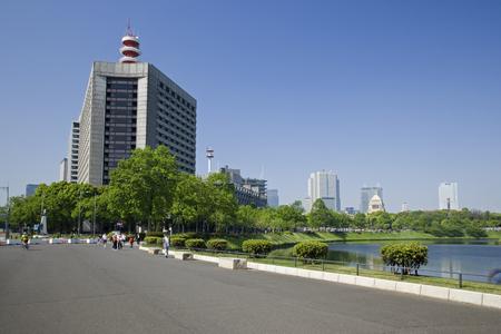 early: Early summer you Horihata Stock Photo