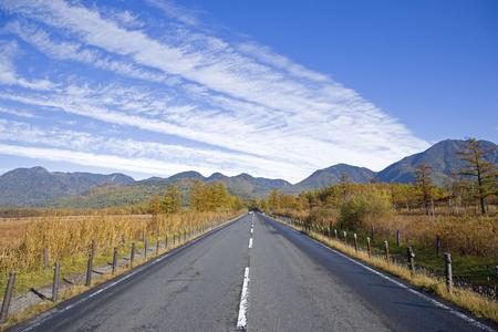 Fall of Japan Romantic Road