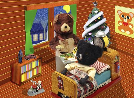 bear doll: Bear doll