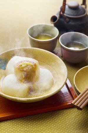 point and shoot: Furofuki radish