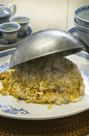 despite: Let despite the fried rice