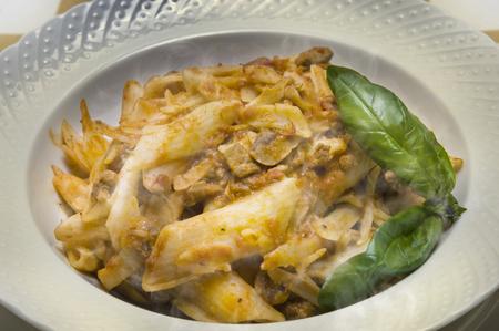 farouk: Penne tomato sauce