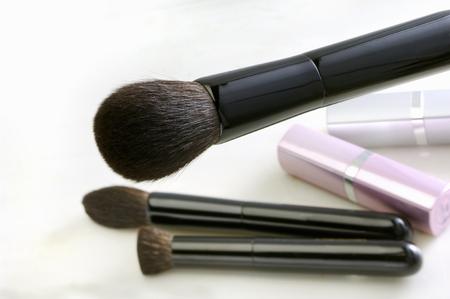 esthetic: Makeup brush