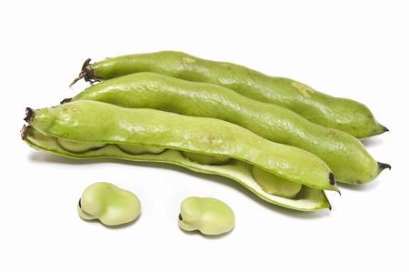familiy: Broad bean Stock Photo