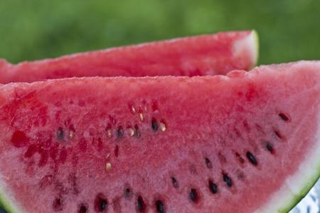 verandah: Watermelon Stock Photo