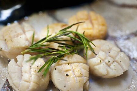sanyo: Herb Grilled Scallops
