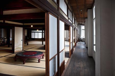 retro: Inside the Shimonoseki tourist information center