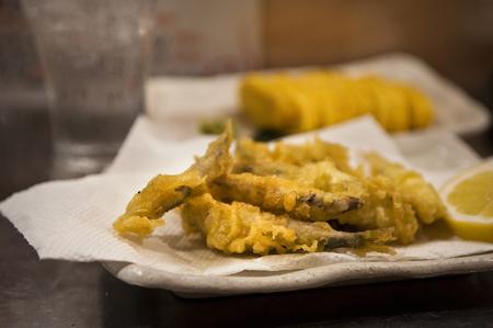 ayu: Small Ayu of tempura
