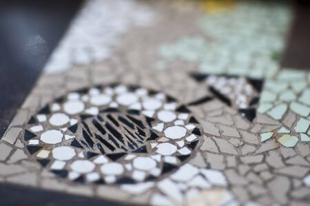 mosaic: Mosaic tile Stock Photo