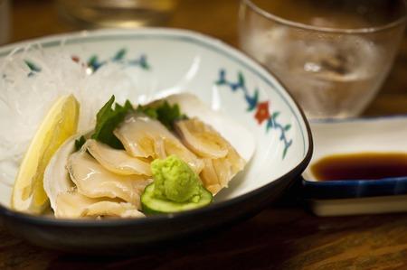 Sashimi of mill shell