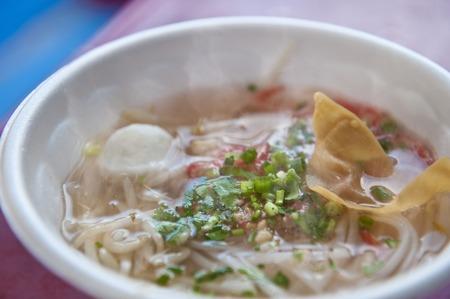 thai noodle: Thai noodle stalls