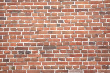 brick red: Red brick wall Stock Photo