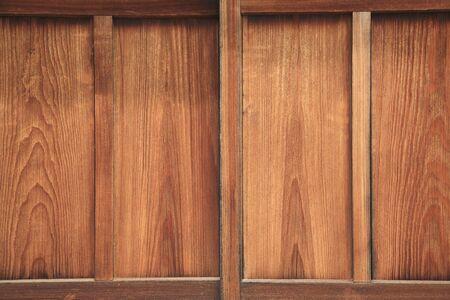 sliding door: Sliding door of wood Stock Photo