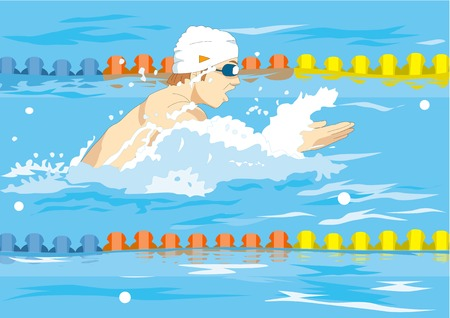 swimming cap: Breaststroke