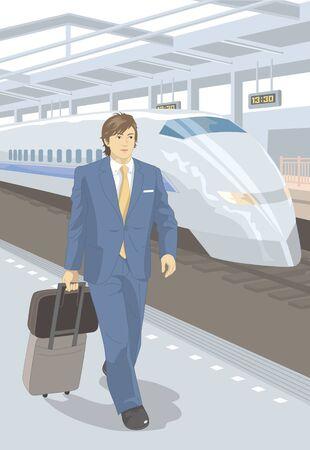 business trip: Business trip Stock Photo