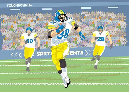 touchdown: Run touchdown