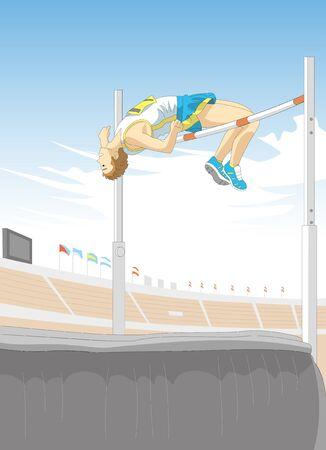 high: High jump